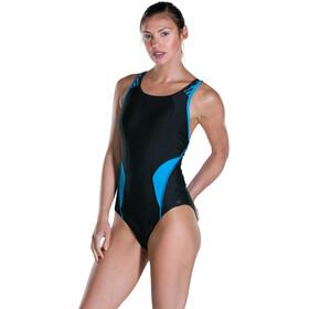 speedo Speedo Fit PowerMesh Pro - Bañador Mujer - azul/negro